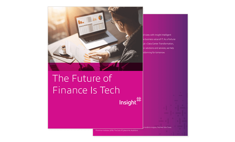 The Future of Finance is Tech